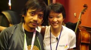 with Dewa Bujana