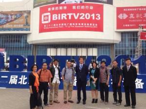 """Berpose sebelum """"menghilang"""" di BIRTV beijing dengan rombongan dari Metro TV"""